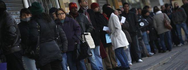 Die Arbeitslosigkeit hat in Spanien erschreckende Ausmaße angenommen.