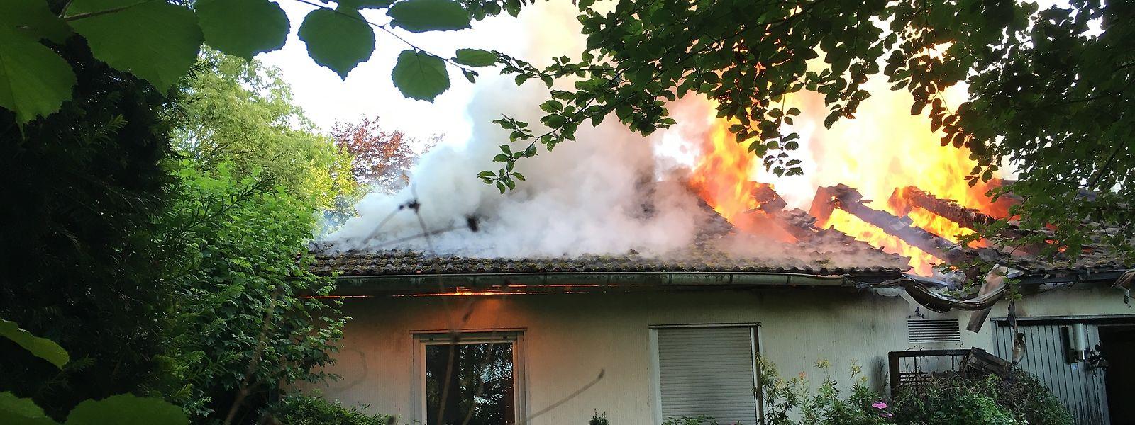 La maison de Boulaide a été entièrement détruite