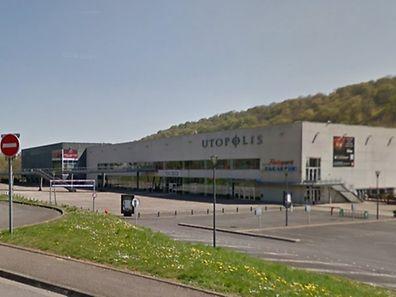 Das Kinepolis-Gebäude in Longwy war vorübergehend geschlossen worden.