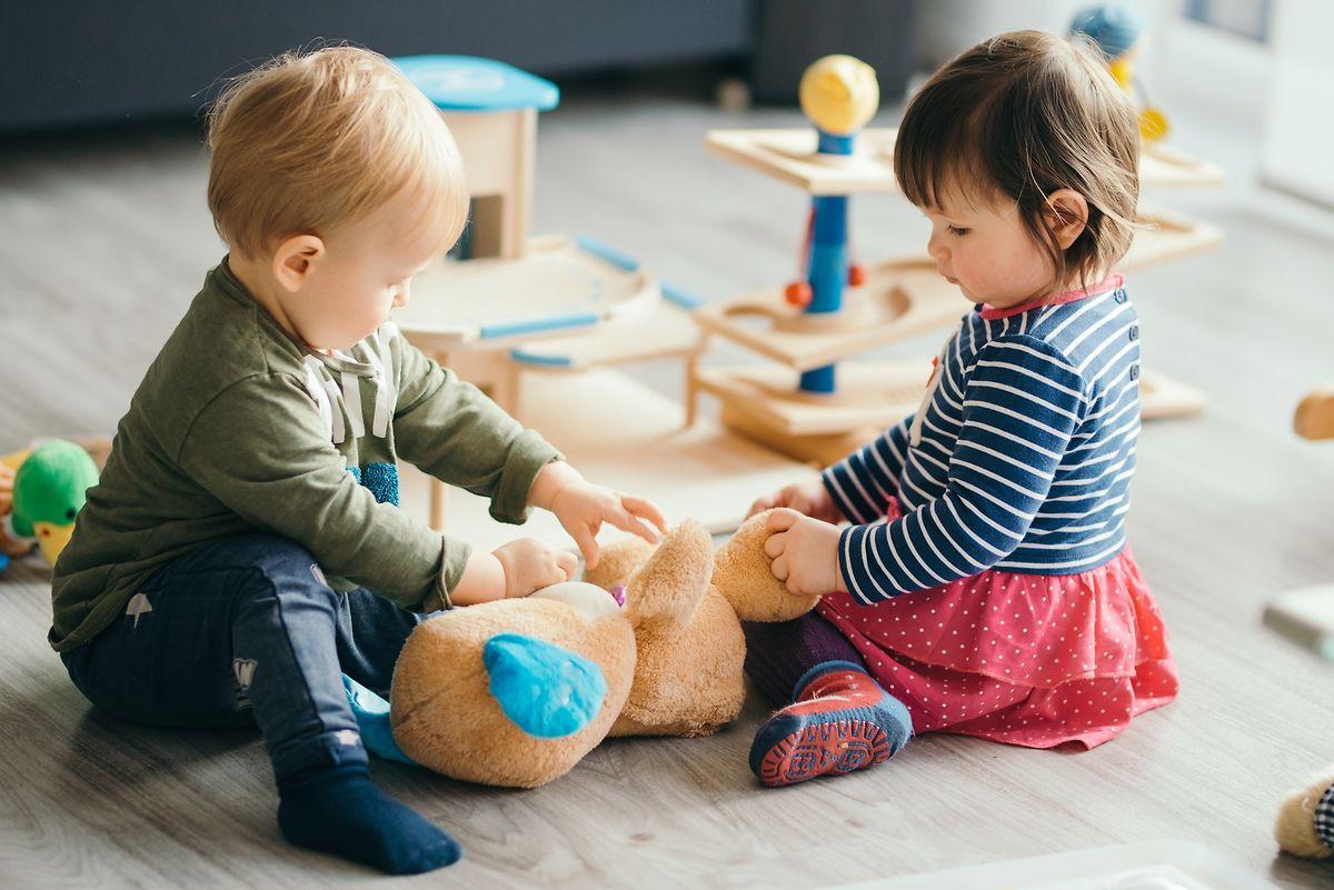 Le matériel et les jouets qui ne peuvent être nettoyés ne pourront pas être utilisés en classe comme en crèche.