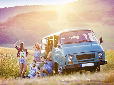 Les jeunes ne sont pas adeptes du road-trip cet été!