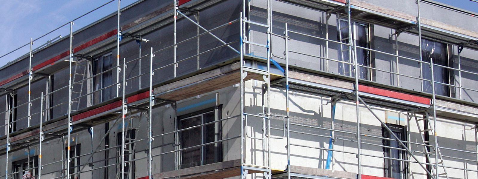 Trotz guter Konjunktur im Bausektor ist auch dort die Zahl der Konkurse deutlich gestiegen.