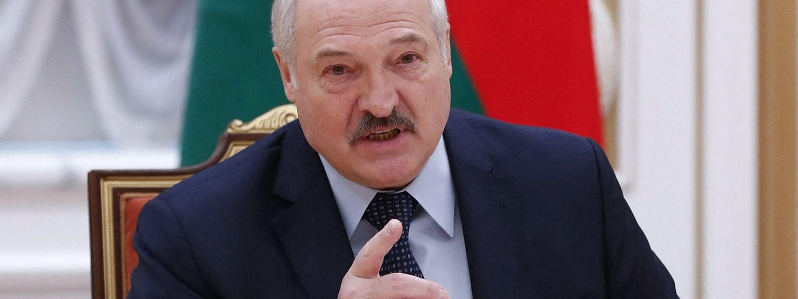 Der belarusische Präsident Alexander Lukashenko soll die Verhaftung des Oppositionsaktivisten Roman Protassewitsch befehligt haben.