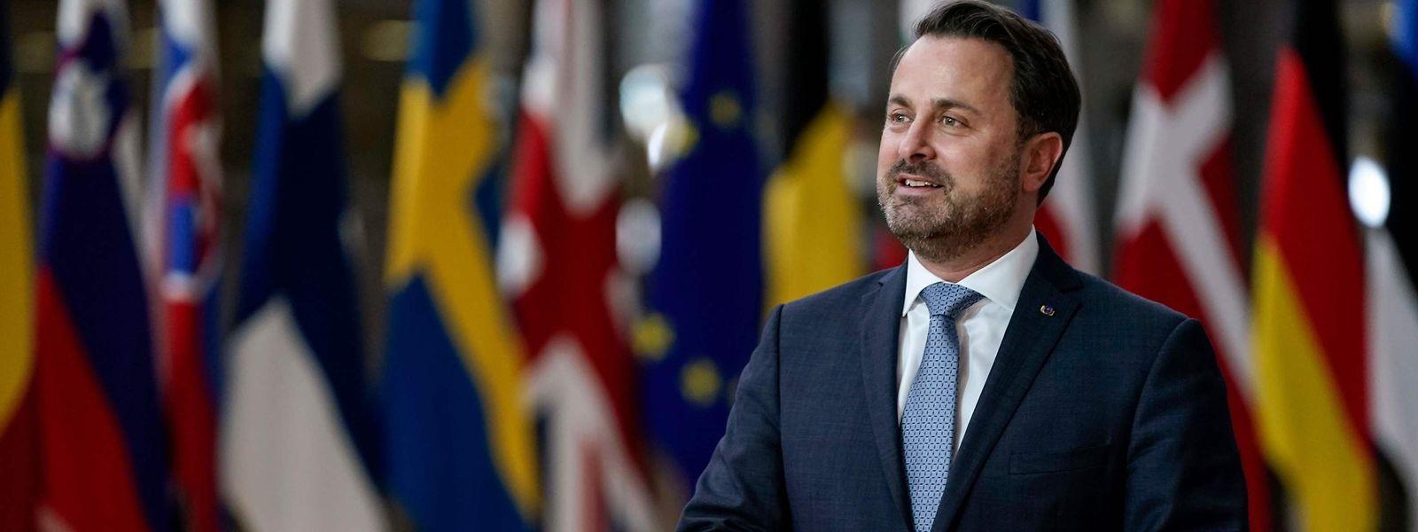 Xavier Bettel trifft am Donnerstag zum EU-Gipfel in Brüssel ein.