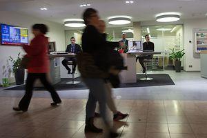 Guichets de la BCEE, a la Belle Etoile, a Strassen, le 30 Octobre 2015. Photo: Chris Karaba