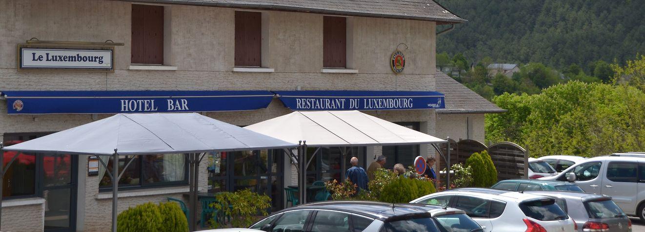 Hauptanziehungspunkt in Le Luxembourg ist das gleichnamige Restaurant. / Foto: Frank WEYRICH