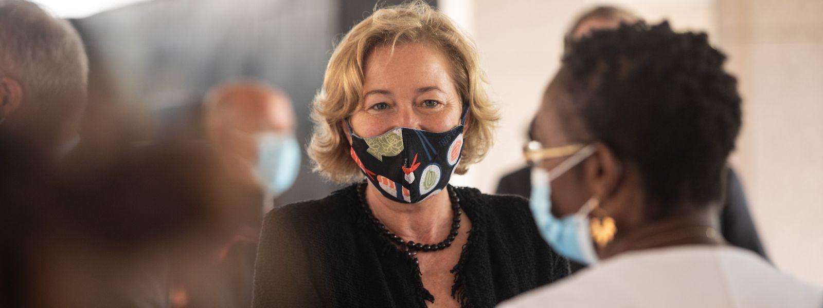 Paulette Lenert, la ministre de la Santé déclare que «nous saurons d'ici le milieu de cette semaine si la tendance est confirmée»