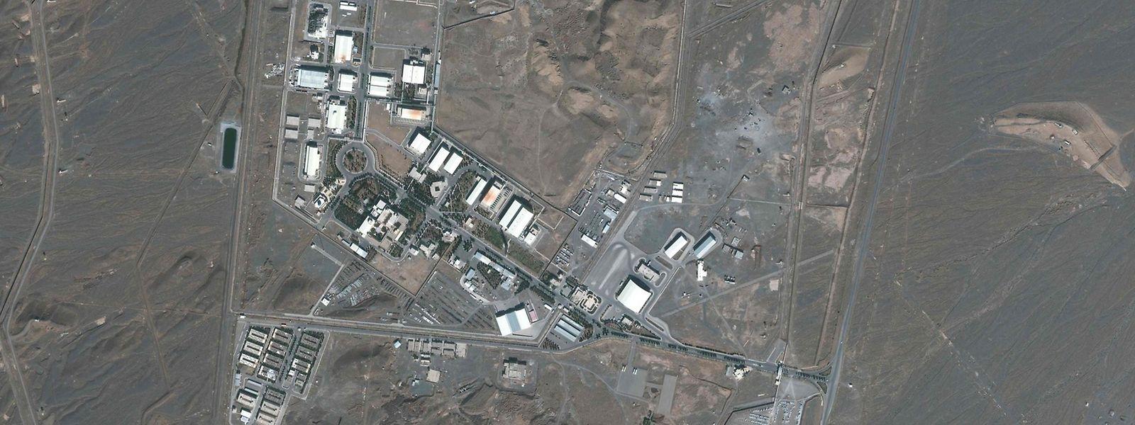 Im Fokus der Weltöffentlichkeit: Die Atomanlage von Natans.