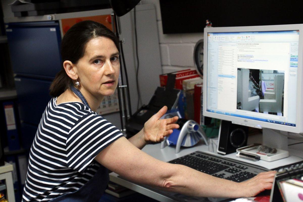 Gisèle Reuter é a chefe do departamento de restauração e conservação das colecções dos museus da cidade do Luxemburgo
