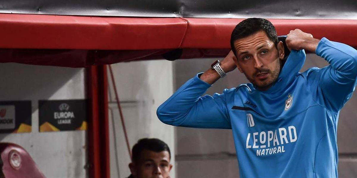 Dino Toppmöller s'attendait à souffrir face à l'Olympiakos mais pas à vivre une telle déroute.