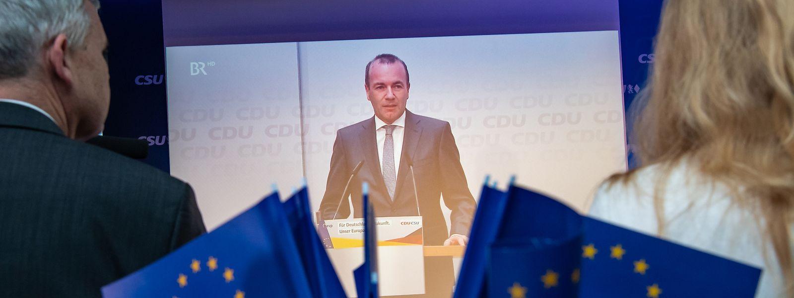 Der Konservative Manfred Weber wird es schwer haben, Kommissionspräsident zu werden.