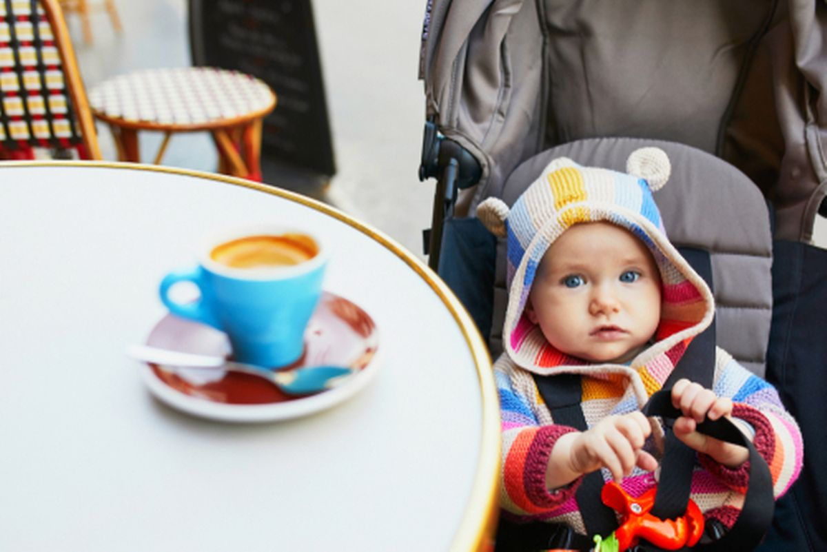 Stroller-friendly places with space and no steps Photo: Shutterstock