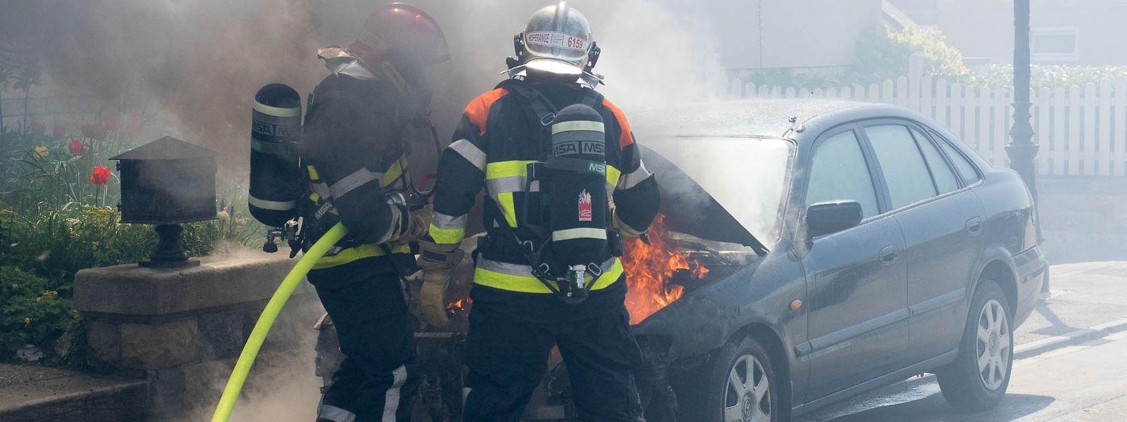Die Feuerwehr hatte das Feuer schnell unter Kontrolle.