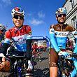 Bob Jungels (Quick-Step) und Ben Gastauer (Ag2r) vor dem Start - Amstel Gold Race 2018 - Foto: Serge Waldbillig