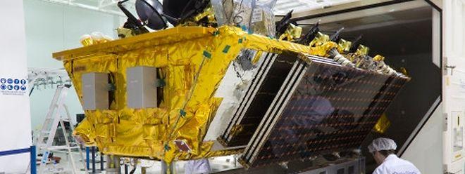 Die vier MEO-Satelliten von SES werden im März in die Umlaufbahn geflogen.