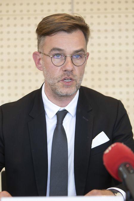 Wirtschaftsminister Franz Fayot
