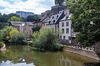 kultur.FOTOSTRECKE: Expo: Luxembourg-Ville de la forteresse au patrimoine mondial UNESCO Fotos vorher/nachher.Hier Bild von Seite 71,Rue Saint-Ulric ,Grund.Foto: Gerry Huberty/Luxemburger Wort