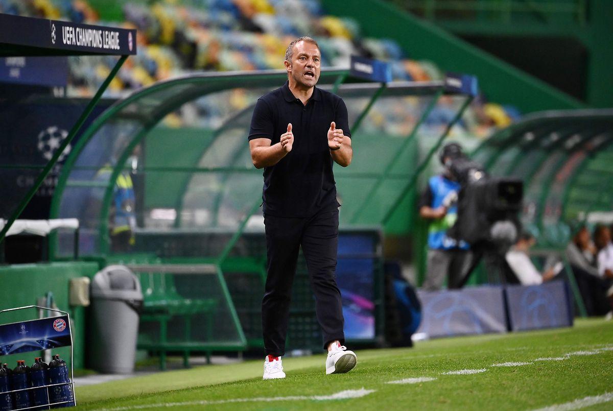 FCB-Trainer Hansi Flick war lange Zeit als Assistent tätig.