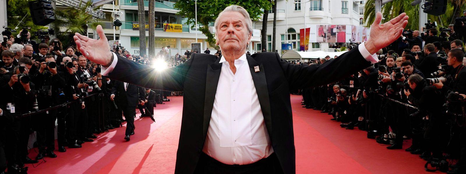Schauspiellegende Alain Delon bescherte dem Festival zumindest ein Skandälchen.