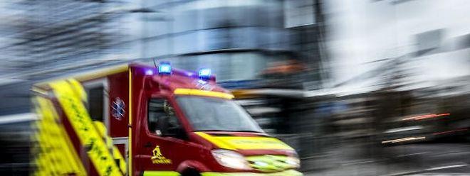 Auf der Strecke zwischen Hellingen und Crauthem wurde eine Person verletzt.