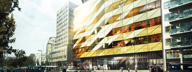 Le projet Royal-Hamilius prévu en 2019 comptera 17.000 m2 d'espaces commerciaux