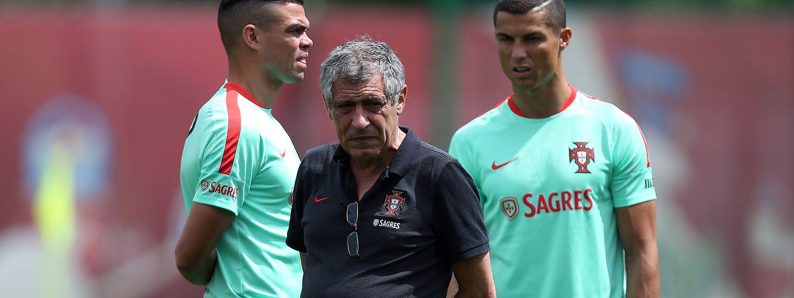 Fernando Santos quer levar Portugal à vitória na Taça das Confederações