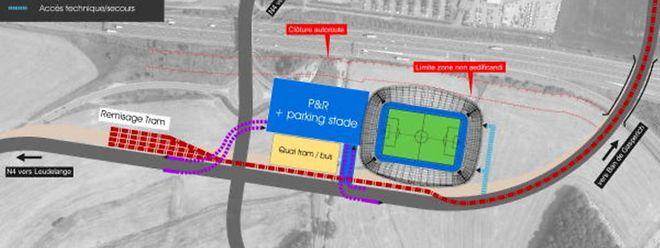 Der Bau des neuen Stadions in Kockelscheuer könnte bereits im Herbst starten.