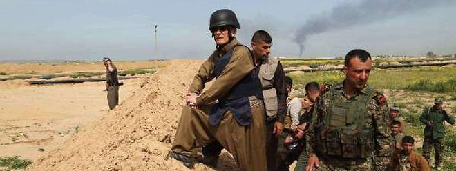Die Kurden bekämpfen den Islamischen Staat.