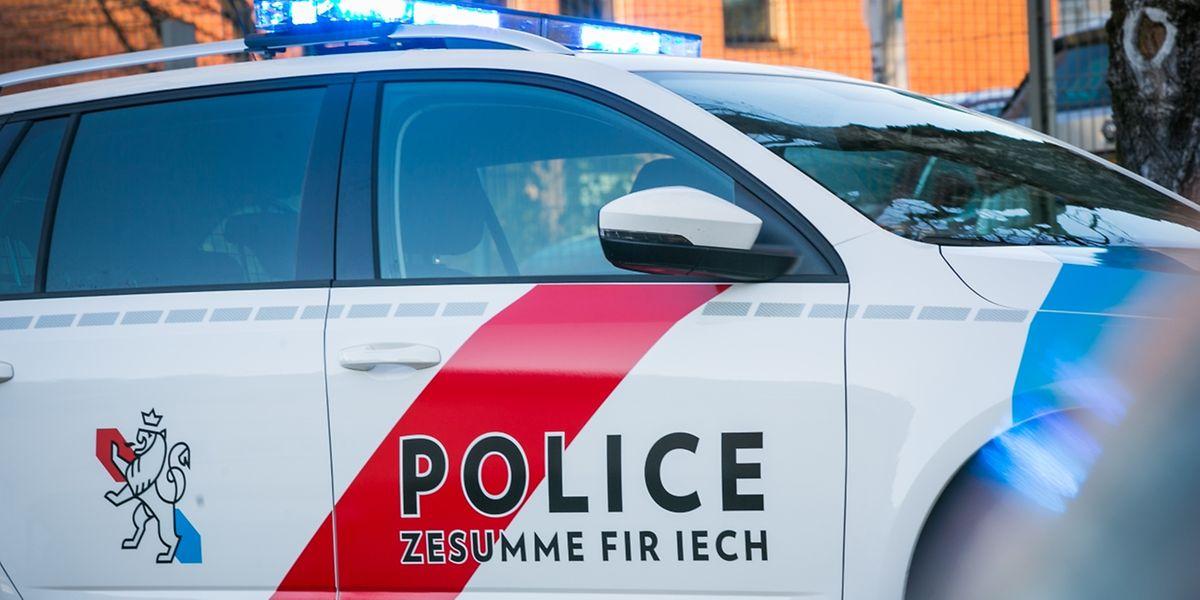 Ein Mann zog im Polizeiwagen seine Kleider aus und beschimpfte die Beamten.