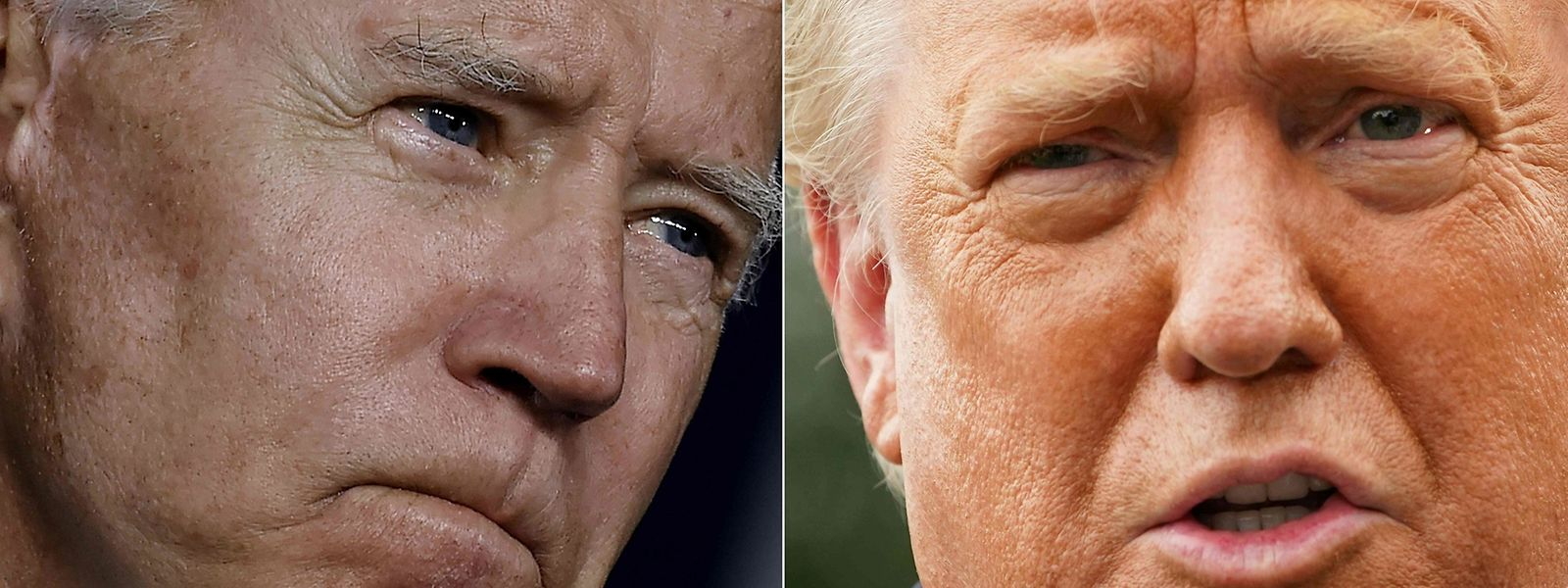 US-Präsident Donald Trump und sein demokratischer Herausforderer Joe Biden treffen vor der Wahl am 3. November in der Nacht von Dienstag auf Mittwoch bei ihrem ersten TV-Duell aufeinander.