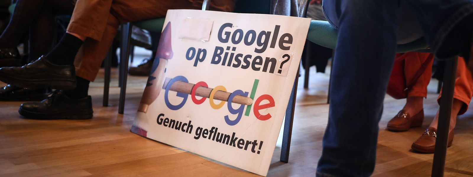 Rückschlag in Sachen Transparenz: Die Google-Absichtserklärung für den Bau eines Rechenzentrums in Bissen bleibt Verschlusssache.