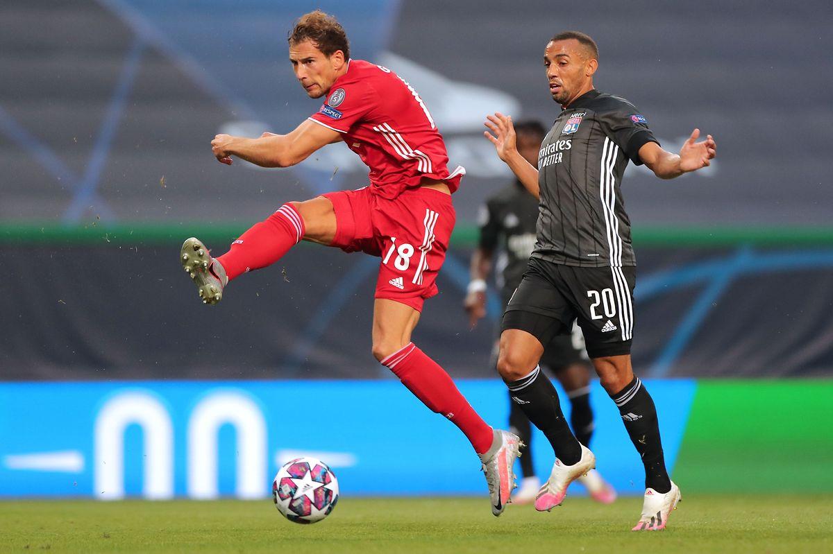 In Topform: Bayern-Mittelfeldspieler Leon Goretzka (l.).