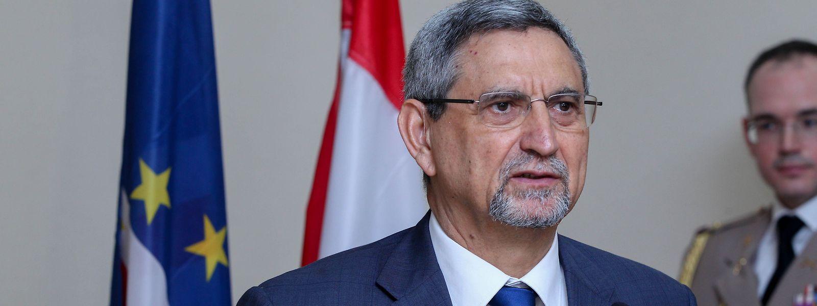 O Presidente de Cabo Verde, Jorge Carlos Fonseca.