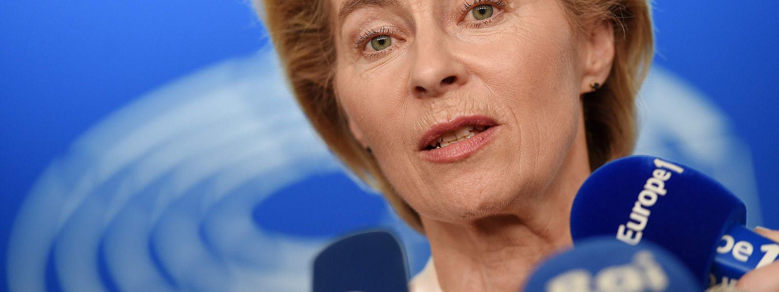 Ursula von der Leyen steht der EU-Kommission vor