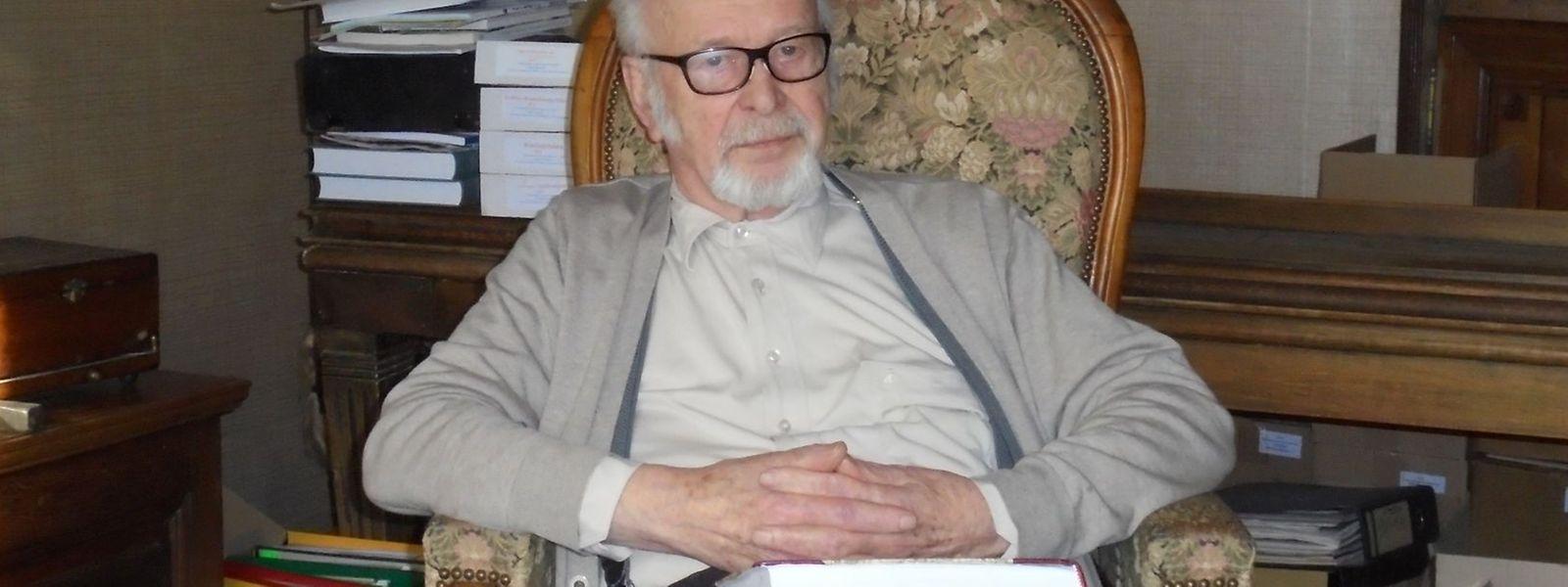 Auch mit 83 Jahren hat Dr. Prosper Kayser noch große Pläne.