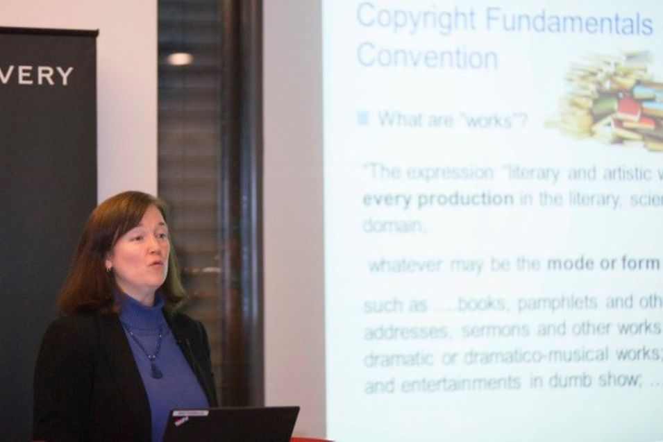 Michele Woods, Director of copyright law division at the World Intellectual Property Organization in Geneva