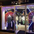 Fachada da loja Koker situada na Galeria Brasseur, na Grand-rue na capital (em frente à Nespresso)