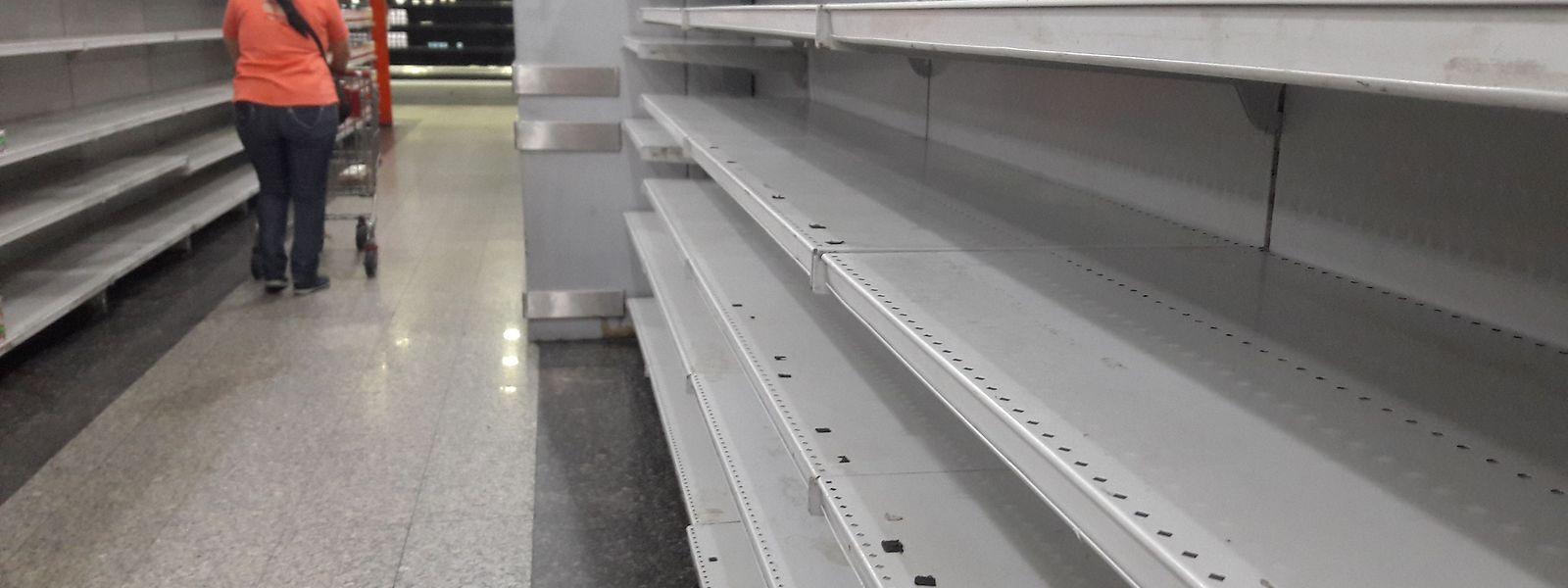 Das Bild leerer Supermarktregale kennen viele Bürger inzwischen aus der Corona-Krise.