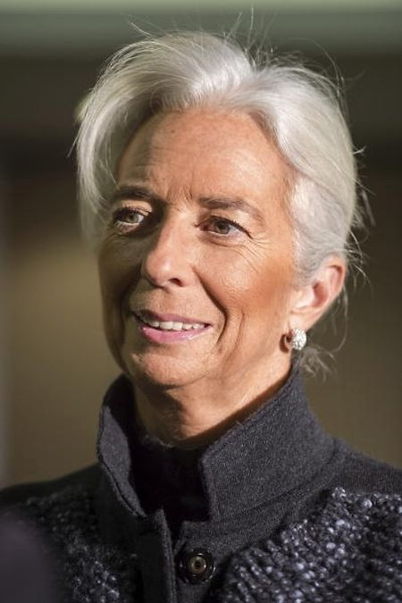 Die Chefin des Internationalen Währungsfonds, Christine Lagarde, nimmt in Luxemburg an einer wichtigen Sitzung teil.