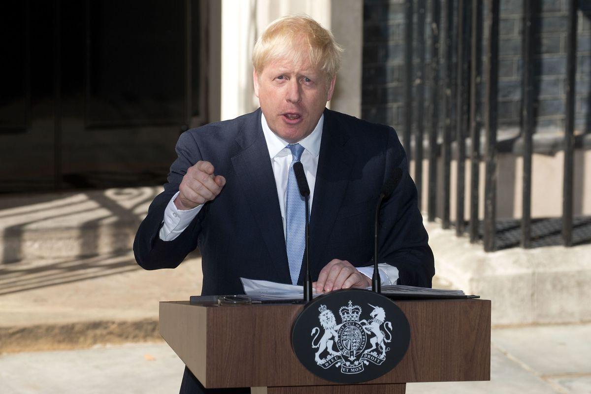 A peine arrivé au 10, Downing street, le Premier ministre Boris Johnson a rappelé son intention de sortir le Royaume-Uni de l'Union européenne.