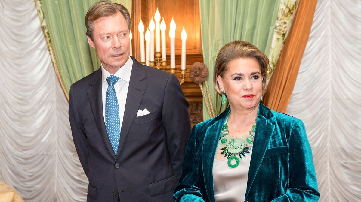 Grand Duke Henri and his wife, Grand Duchess Maria Teresa Photo: Guy Jallay