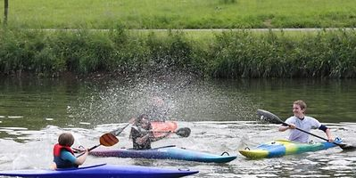 Canoeing, kayaking or paddle-boarding will keep teens occupied Photo: Point24