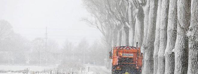 Selon Meteolux 4 cm de neige sont attendus sur tout le pays.