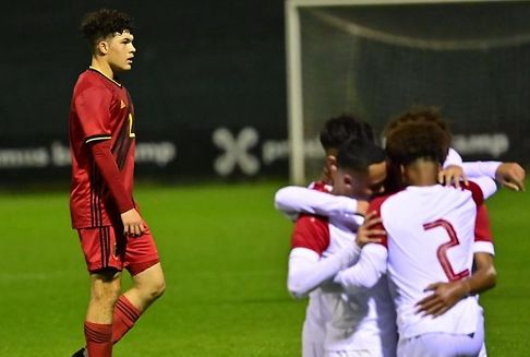 Luxemburgs U17-Auswahl schlägt Belgien