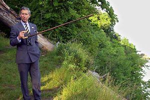 Naturfreund Prinz Charles von Großbritannien setzt sich aktiv für den Naturschutz ein.