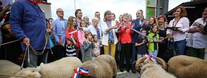 Die Schobermesse wurde am Freitagnachmittag offiziell durch Hauptstadt-Bürgermeisterin Lydie Polfer eröffnet.