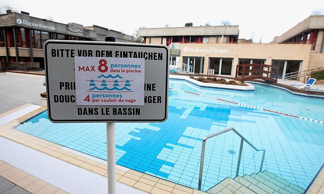 Mondorf Spa had to shut due to Covid restrictions last year