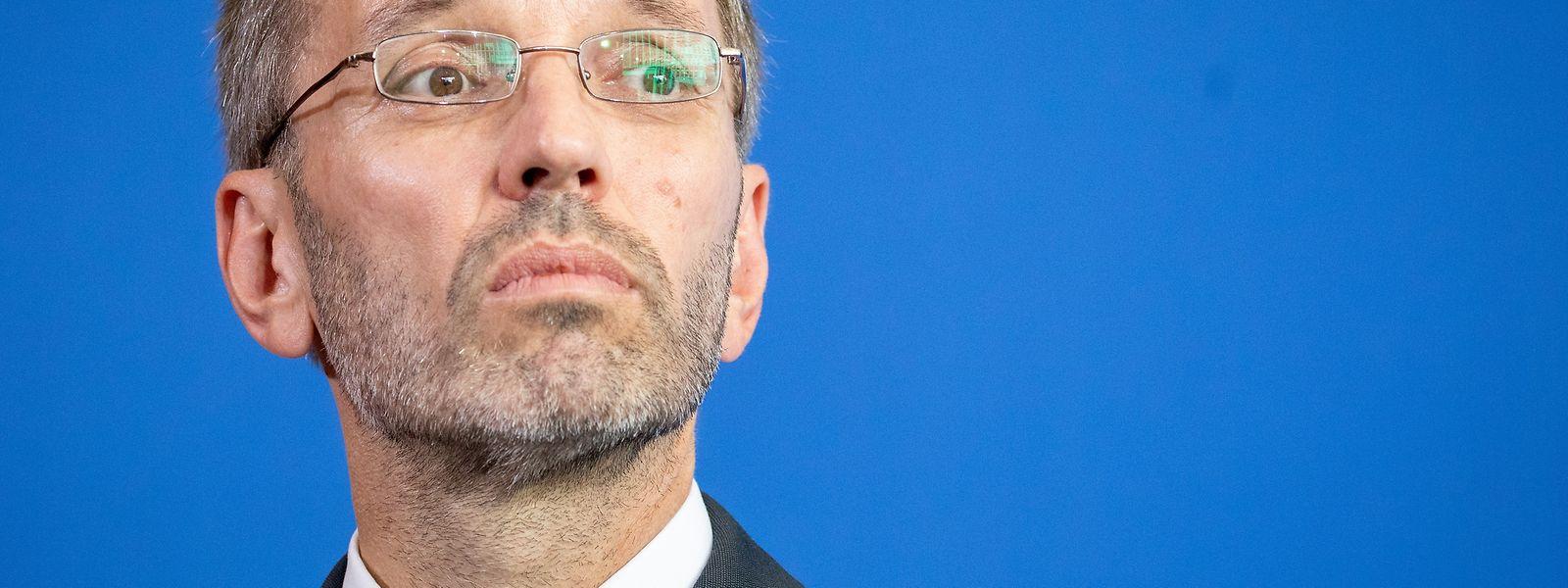Herbert Kickl (FPÖ), Innenminister von Österreich, droht die Entlassung.