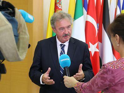 Jean Asselborn, ministre des Affaires �trang�res et europ�ennes du Luxembourg