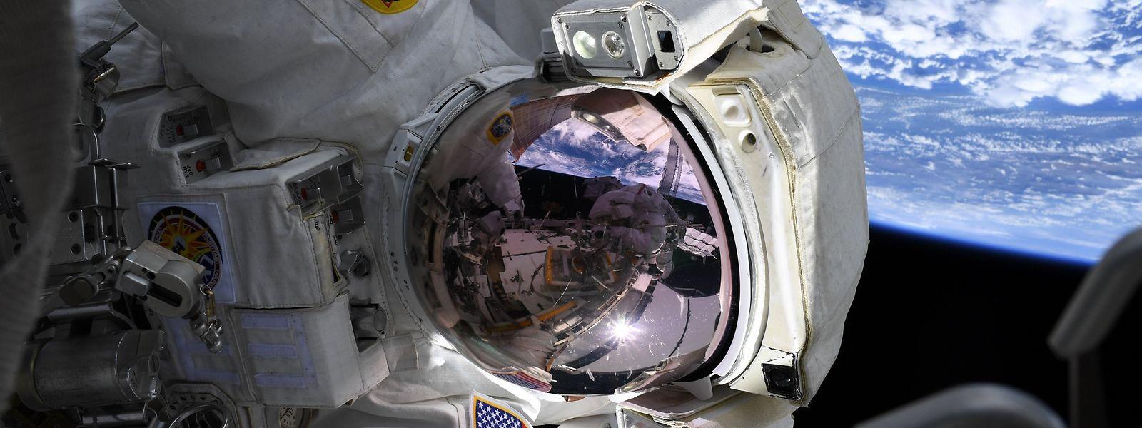 Am 9. April soll der nächste Flug zur internationalen Raumstation starten.